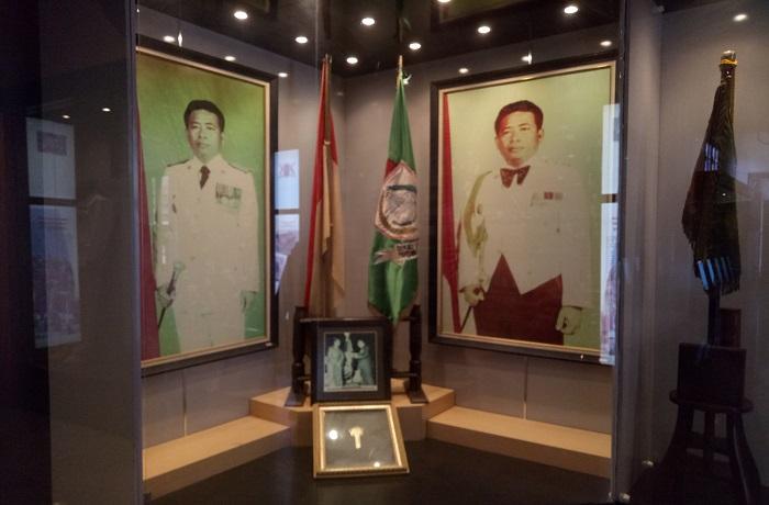 Koleksi Museum: Ruang Profil Walikota Makassar, HM Daeng Patompo dan Prestasinya. (foto: mfaridwm/palontaraq)