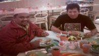 """Bersama Wijaya Kusumah (Omjay), Penulis Buku, """"Menulislah Setiap Hari dan Rasakan Apa yang Terjadi"""". (foto: ist/palontaraq)"""