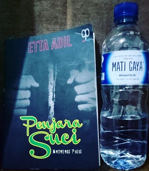 """Buku karya Etta Adil, """"Penjara Suci"""". (foto: ist/palontaraq)"""