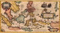 Map of Nusantara (Indonesia).