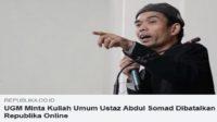 Ustadz Abdul Somas (UAS)