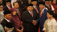 Prabowo Subianto resmi dilantik sebagai Menteri Pertahanan RI. (foto: ist/palontaraq)