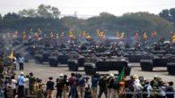 Penampilan beberapa alutsista TNI pada HUT TNI 74 Tahun. (foto: ist/palontaraq)
