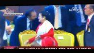 Bu Megawati tampak di Teve enggan menyalami Surya Paloh, Ketua umum Partai Nasdem. (foto: ist/palontaraq)
