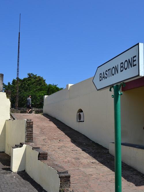 Bastion Bone dalam Kompleks Fort Rotterdam. (foto: mfaridwm/palontaraq)