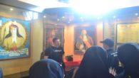 Potret Sultan Hasanuddin, Arung Palakka dan Cornelis Speelman dipajang berdampingan dalam Museum Kota Makassar, ketiganya tokoh dalam Perang Makassar. (foto: ist/palontaraq)