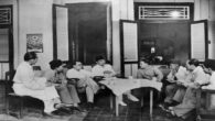 Foto: Soekarno dan tokoh bangsa saat merumuskan dasar negara.