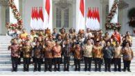 Kabinet Kerja Indonesia Maju. (foto: ist/palontaraq)