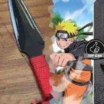 Naruto dengan senjata khasnya, Kunai. (foto: ist/palontaraq)