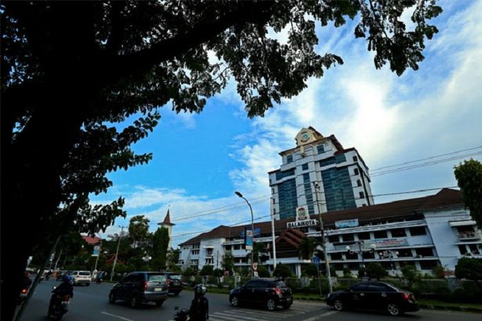 Gedung Balaikota/Kantor Walikota Makassar. (foto: sindo/*)