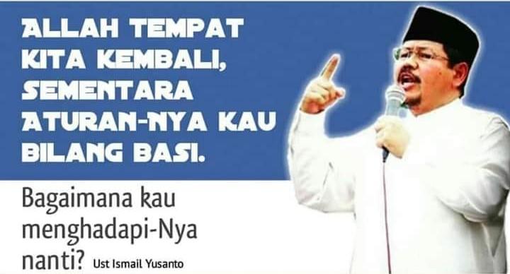 Jubir HTI, Ismail Yusanto. (foto: ist/palontaraq)