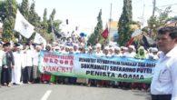 Masyarakat Muslim Madura menuntut 'Sang Peenista' Agama, Sukmawati ditangkap dan dipenjarakan (foto: ist/palontaraq)