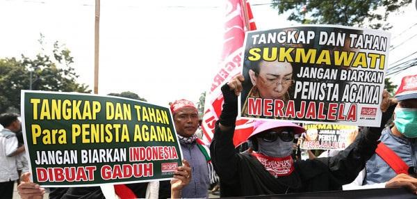 Tangkap Sukmawati. (foto: ist/palontaraq)