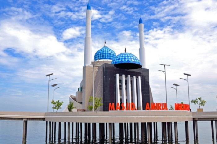 Masjid Amirul Mukminin. (foto: ist/palontaraq)