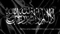 Bendera Tauhid. (foto: ist/palontaraq)