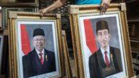 Bingkai Foto Jokowi dan Ma'ruf Amin. (foto: ist/palontaraq)