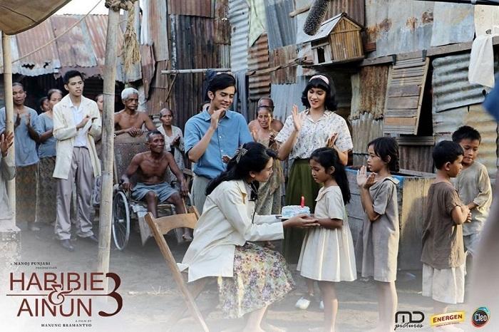 Film Habibie & Ainun 3. (foto: ist/palontaraq)