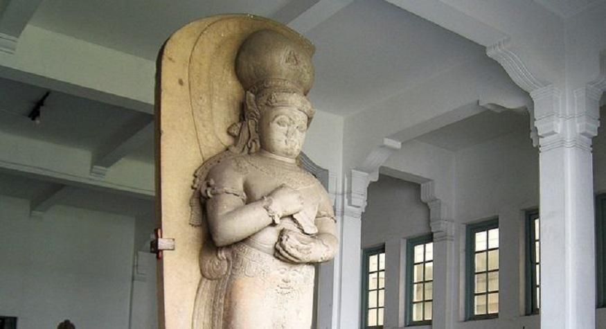 Patung Bhairawa di Museum Nasional RI. (foto: ist/palontaraq)