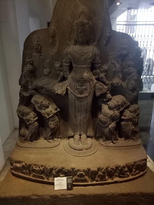 Salah satu arca, Koleksi Museum Nasional RI. (foto: mfaridwm/palontaraq)
