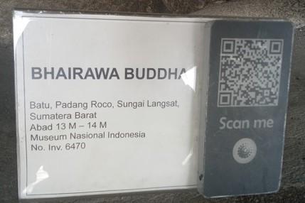 Identitas Koleksi Musem, Bhairawa Budha. (foto: mfaridwm/palontaraq)