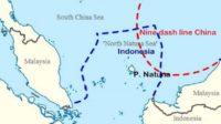 Inilah Klaim China atas Laut Natuna Indonesia. (foto/sumber: MiliterMeter)