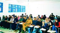 Penulis bersama Para Mahasiswa. (foto: ist/palontaraq)