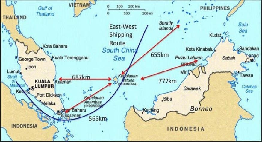Kepulauan Natuna masuk ZEE Indonesia. (foto: ist/palontaraq)
