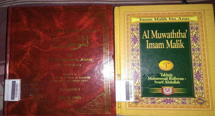 Kitab Al-Muwaththa' Imam Malik. (foto: ist/palontaraq)