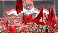Massa PDI Perjuangan. (foto: ist/palontaraq)