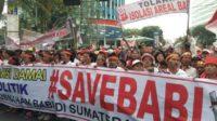 Demo #SaveBabi (foto: ist/palontaraq)