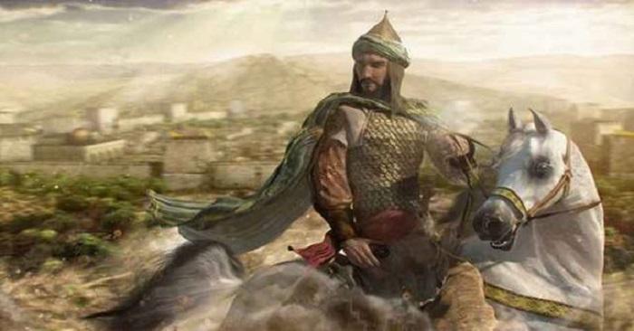 Ilustrasi-Salahuddin al-Ayyubi. (foto: ist/palontaraq)
