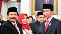Prof Yudian saat dilantik sebagai Ketua BPIP di Istana Negara, Rabu (5/2/2020). (foto: ist/palontaraq)