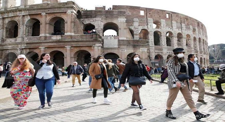 Gara-gara abaikan WHO, Italia jadi pusat penyebaran virus Corona. (foto: reuters/*)