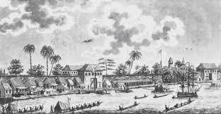 Ilustrasi Pelabuhan Samudera Pasai. (foto: ist/palontaraq)