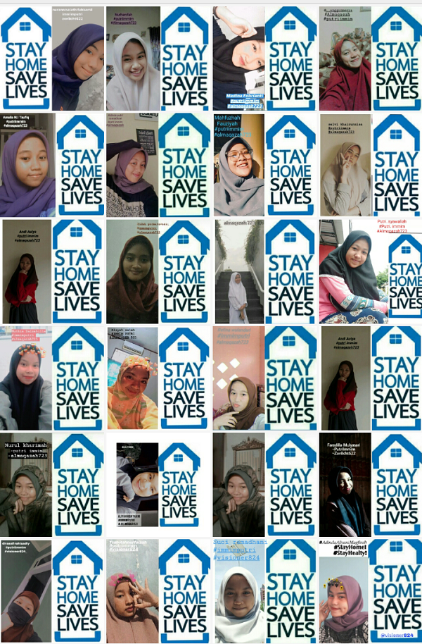 """Invite students to the """"StayHomeSaveLives"""" campaign"""