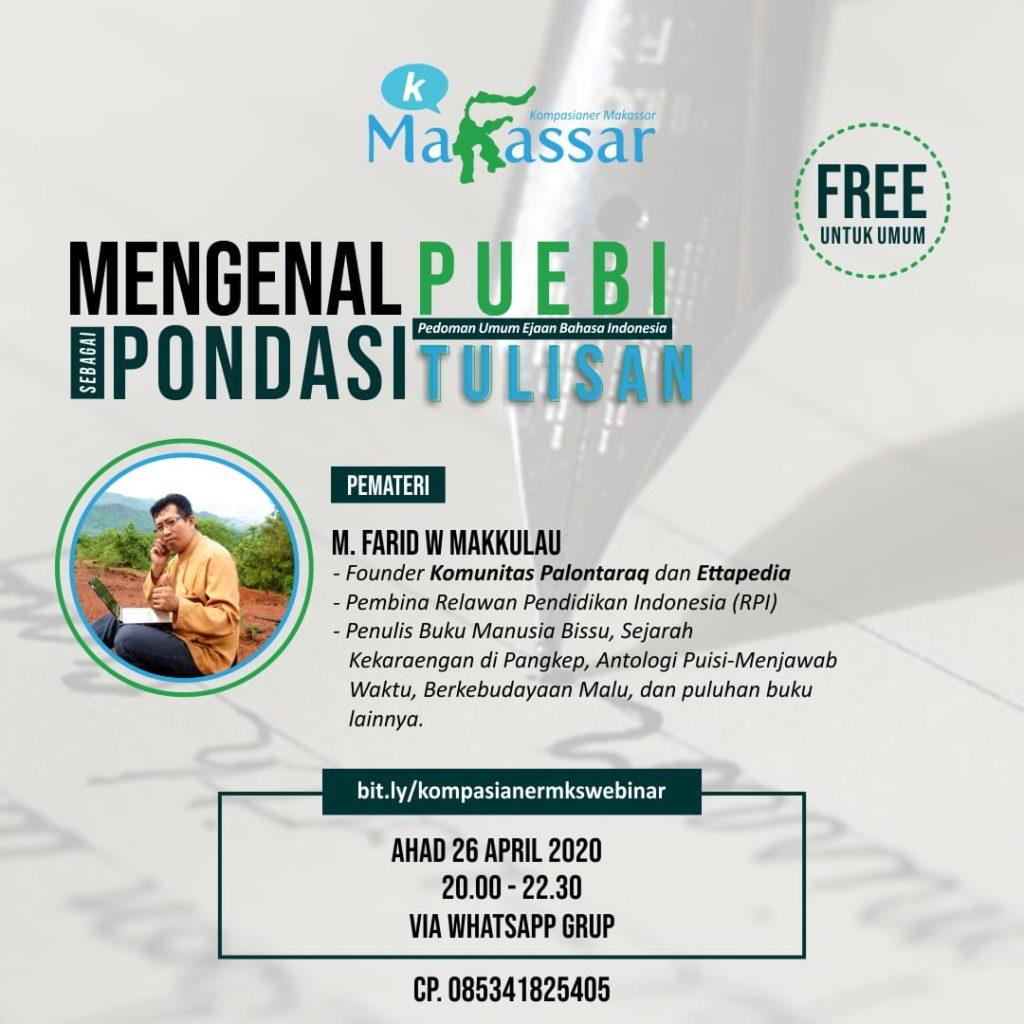 Mengenal PUEBI sebagai Pondasi Tulisan