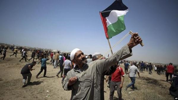 Rakyat Palestina terus berjuang tanpa henti. (foto: ist/palontaraq)