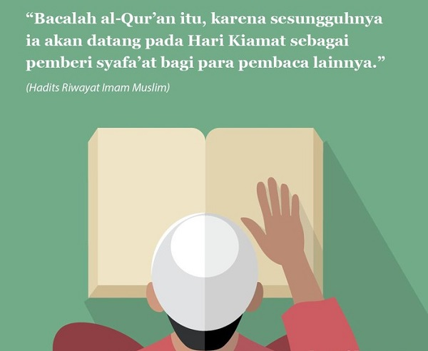 Akrabilah Al-Qur'an dan jadikan panduan dalam hidup. (Sumber gambar: detik.com)