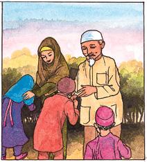 Adab dalam Islam. (foto: ist/palontaraq)