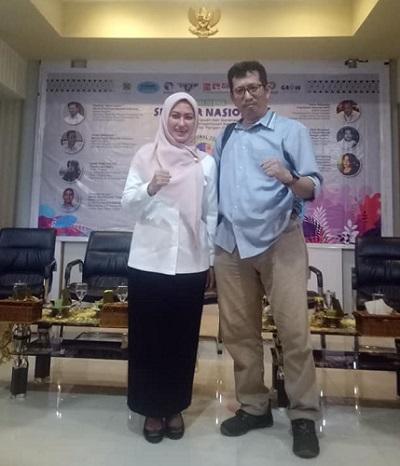 Foto bersama Bupati Luwu Utara, Indah Indriyani. (foto: ist/palontaraq)
