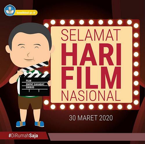 Hari Film Nasional. (foto: ist/kemdikbud)