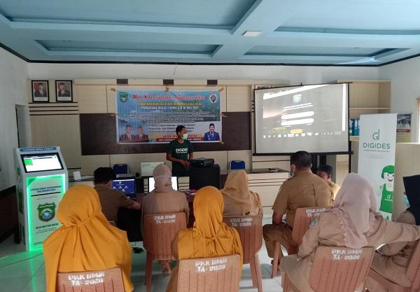 Bimtek Pemanfaatan Digital Web Desa untuk Mempermudah Pelayanan Desa. (foto: ettaadil/palontaraq)