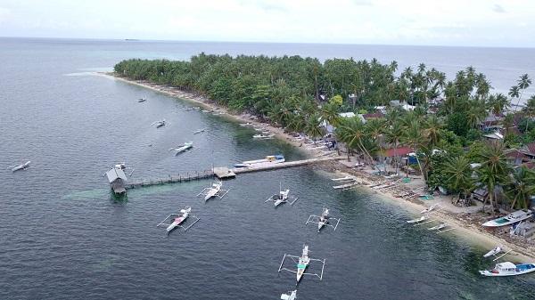 Dermaga Pulau Gondong Bali. (foto: hasbitube/palontaraq)